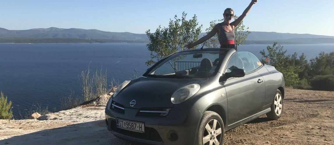 De route van mijn rondreis dalmatie van 2,5 weken