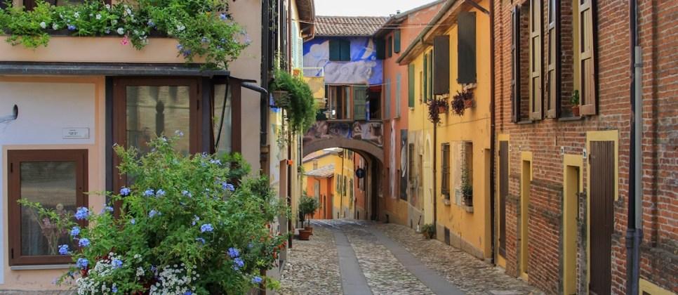 Dozza bezoeken in de omgeving van Bologna