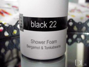 JANZEN shower foam black 22