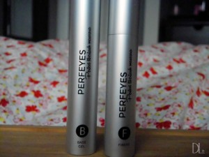 Two step fiberlash mascara