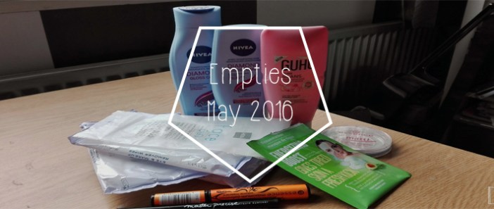 Empties || May '16