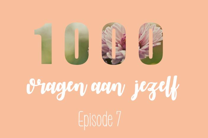1000 vragen aan jezelf – 7