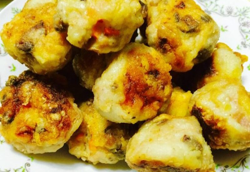 Cantonese Fried Meatballs