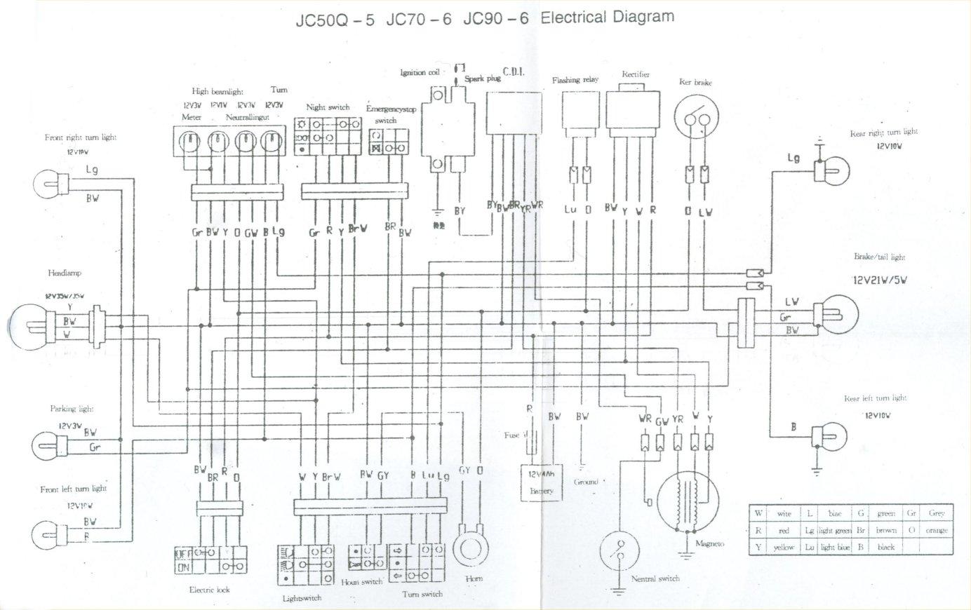 honda ss50 wiring diagram christianity judaism islam venn le site de dapi dax st50 st70 z50 ab23 la