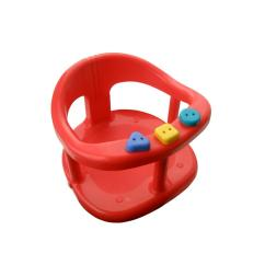 Baby Bath Chairs Poang Chair India Safety Seat Tub Ring Red Anti Slip