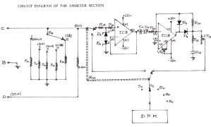 Schematics of delabs: Ammeter and Precision Rectifier