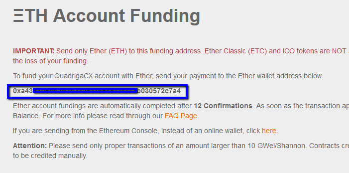 ETH-Account-Funding