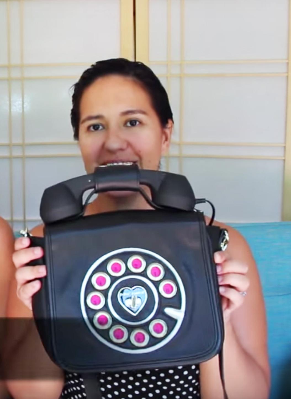betsy johnson phone bag review