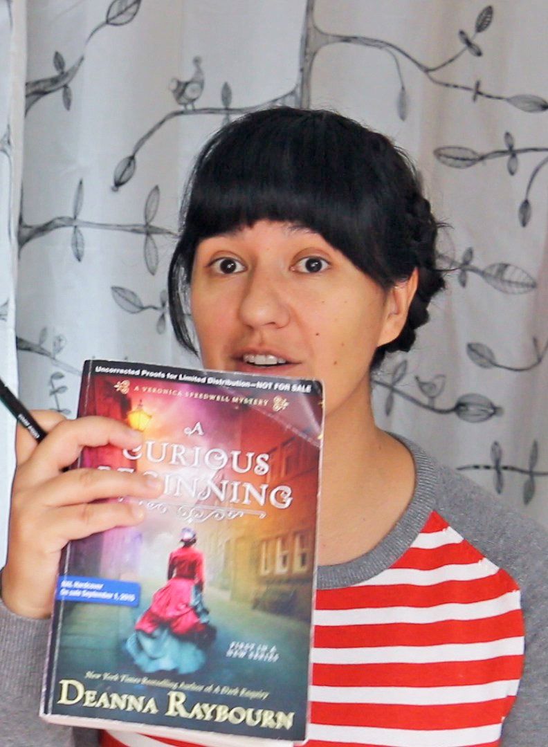 Book Review - A Curious Beginning by Deanna Raybourne