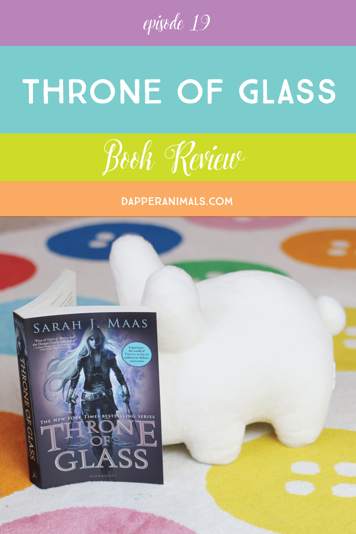 Kick-ass fantasy with a girl assassin. Throne of Glass by Sarah J. Mass