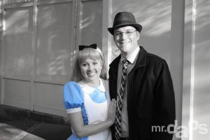 Mr. DAPs & Alice in Wonderland at Disneyland