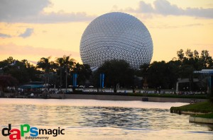 EPCOT twilight