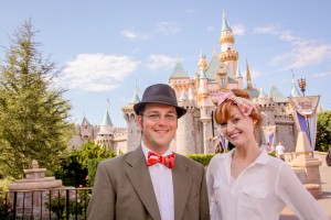 Hayley the Hatter & Mr. DAPs at Disneyland
