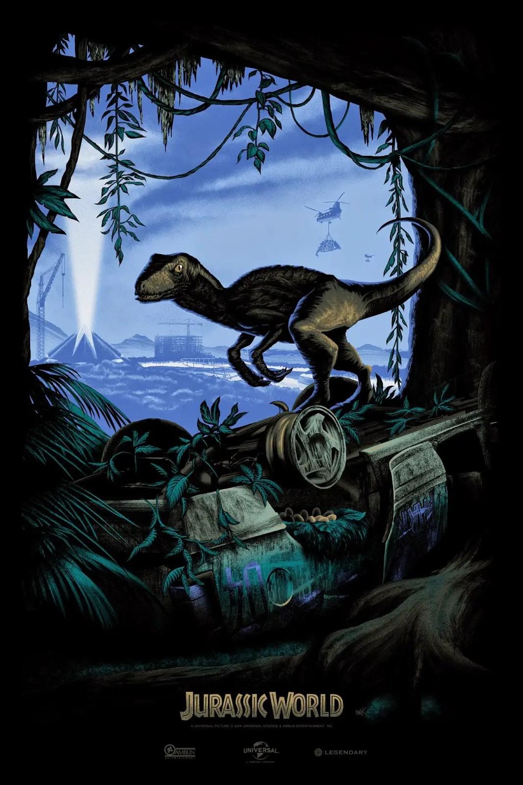 Jurassic World Teaser Poster Variant
