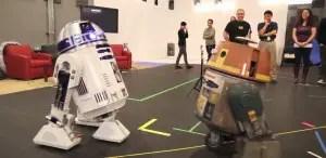 R2D2 Meets Chopper from Star Wars Rebels