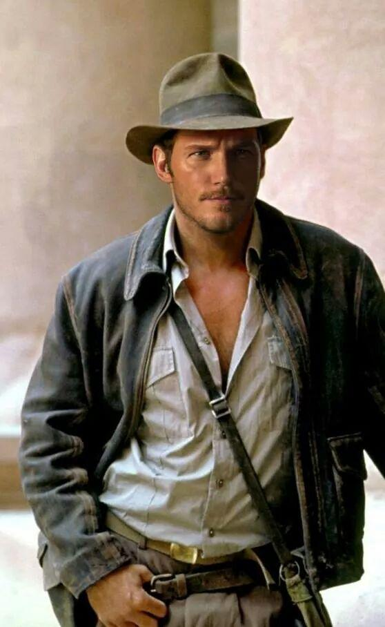 Chris Pratt as Indiana Jones