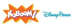 KaBOOM! & Disney Parks