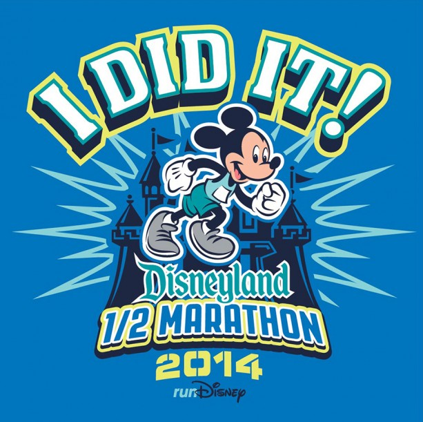 I Did It! - 2014 Disneyland Half Marathon