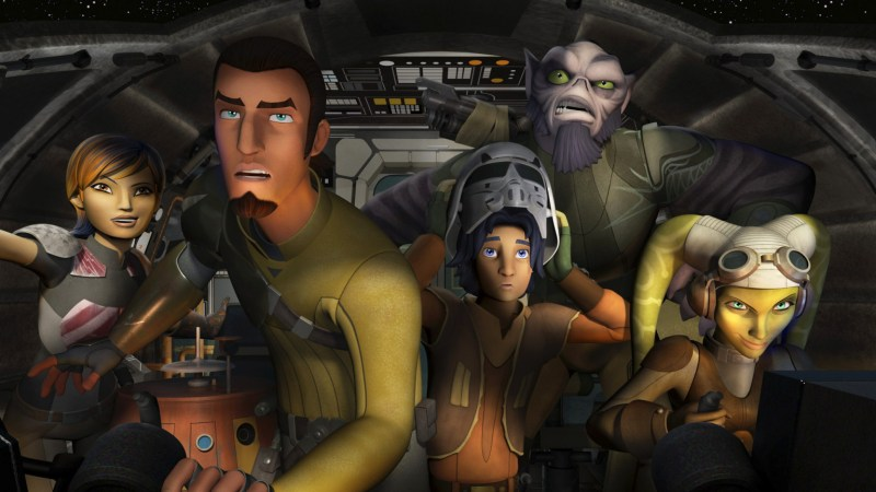 Star Wars Rebels to Premiere on October 3Star Wars Rebels to Premiere on October 3