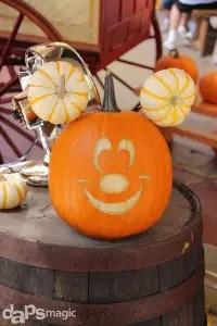 Mickey Mouse Jack-O-Lantern
