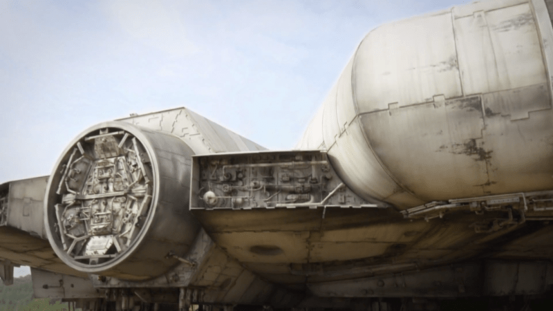 Star Wars Episode VII Millennium Falcon Clip: Hunka Junk