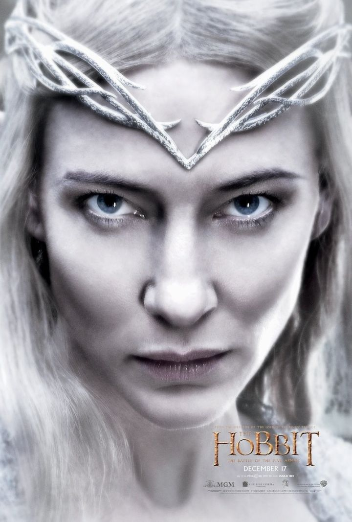 Galadriel - The Hobbit: The Battle of the Five Armies Poster