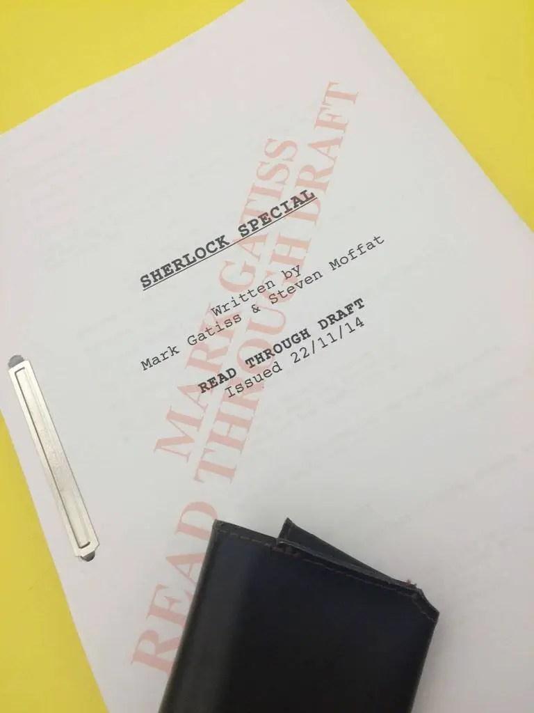 Sherlock Special - Script