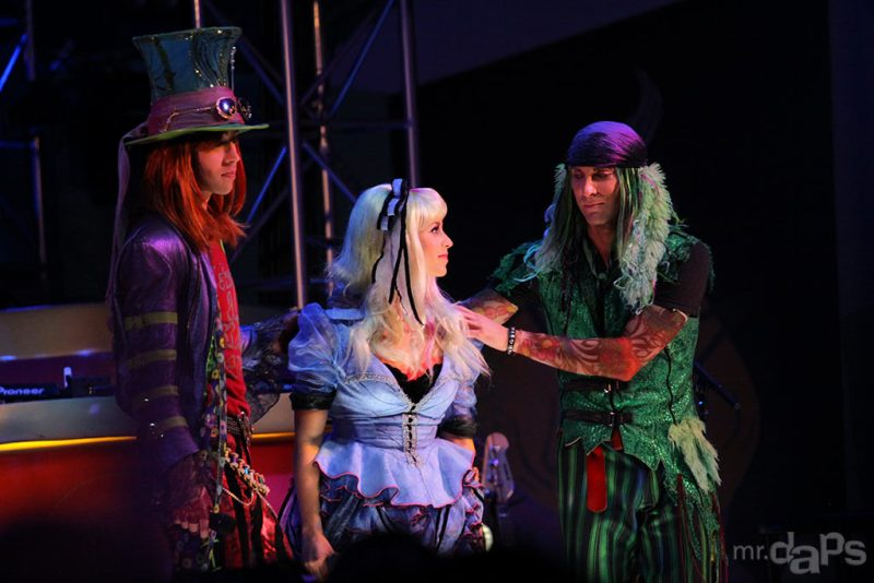 All in a Moment - the End of Mad T Party