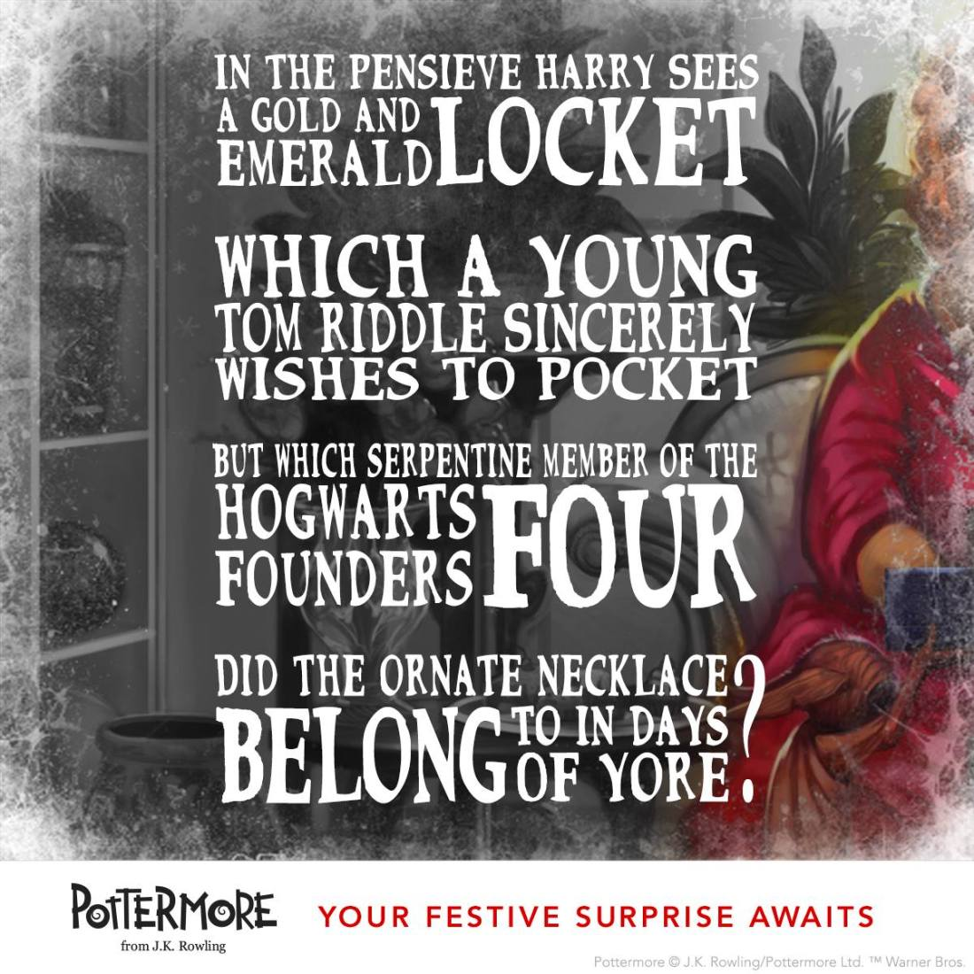 Day 8 of J.K. Rowling's Twelve Days of Christmas Harry Potter Moments