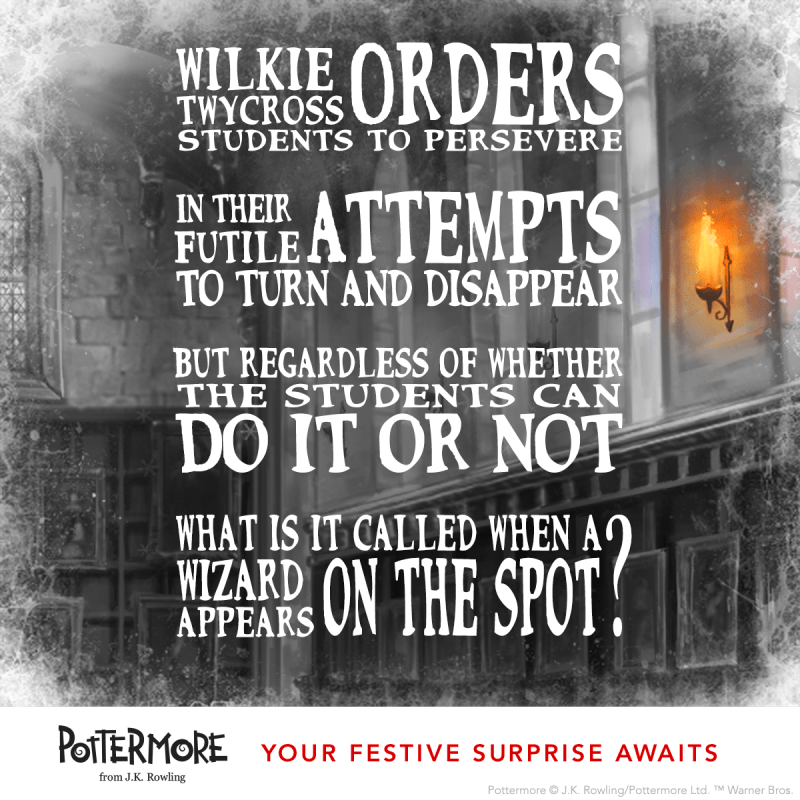 Day 7 of J.K. Rowling's Twelve Days of Christmas Harry Potter Moments