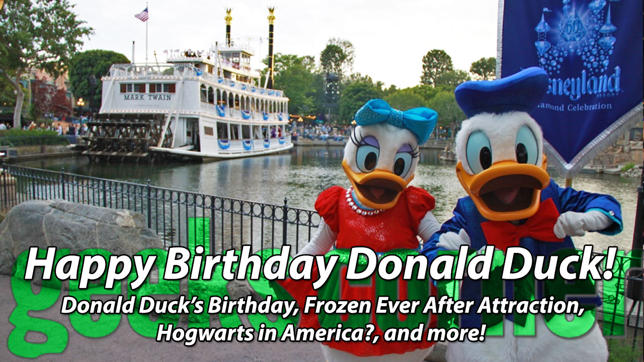 Happy Birthday Donald Duck! - Geeks Corner - Episode 436