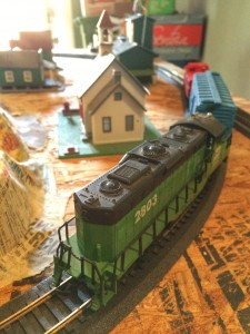 Mr. DAPs' current HO-Scale Train