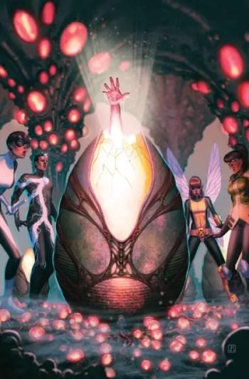 Terrigen Mist cocoon in the comics