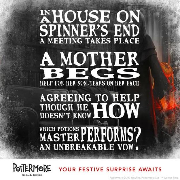 J.K. Rowlings Harry Potter Riddle #1