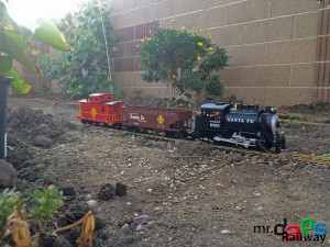 Mr. DAPs' Railway - The First Attempt