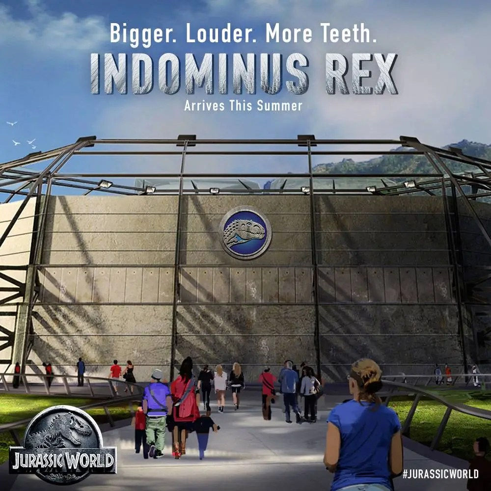 Indominous Rex - Jurassic World