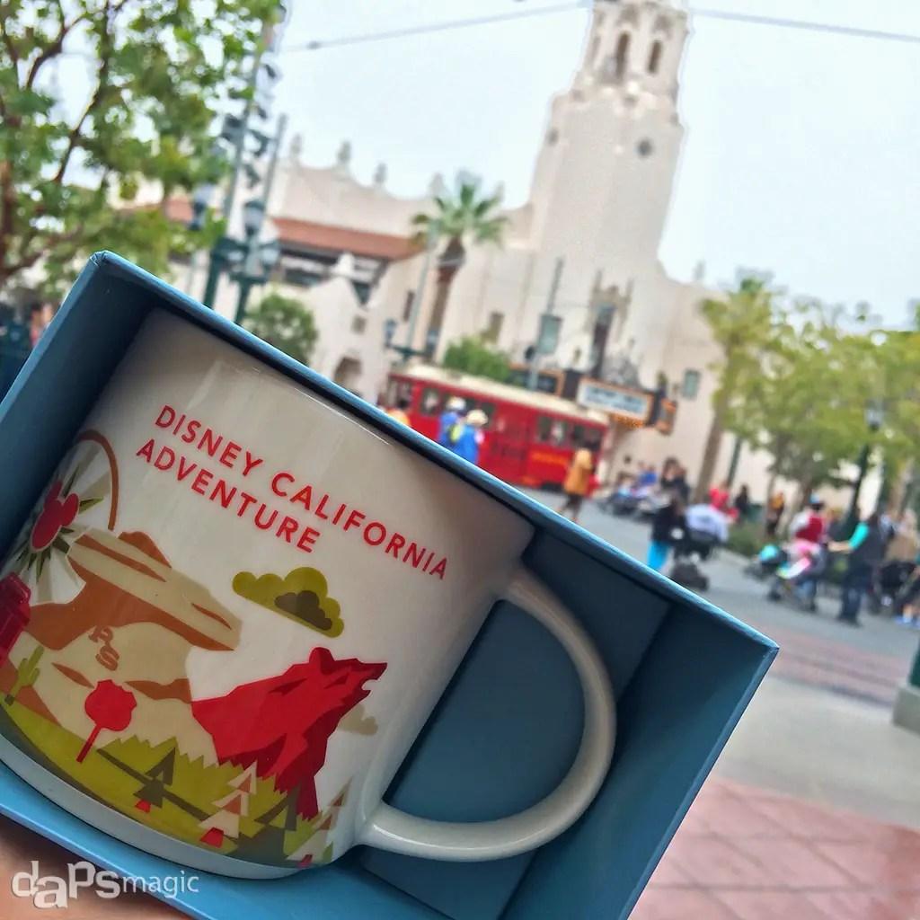 California Adventure Travel Mug