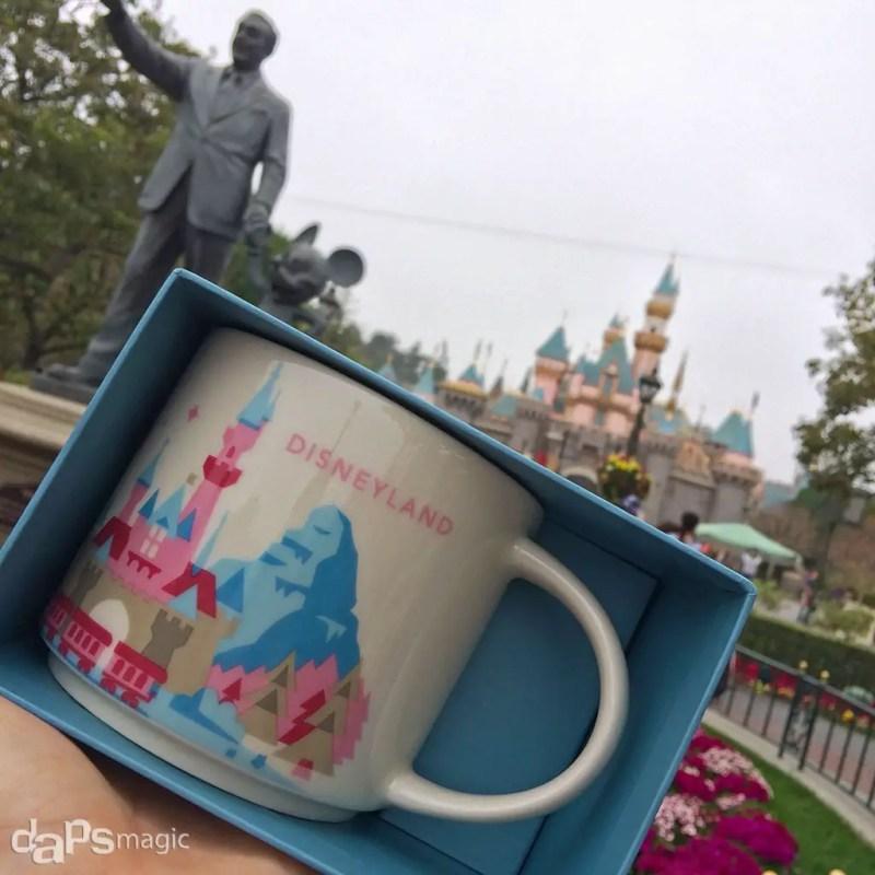 Disneyland Starbucks Mug