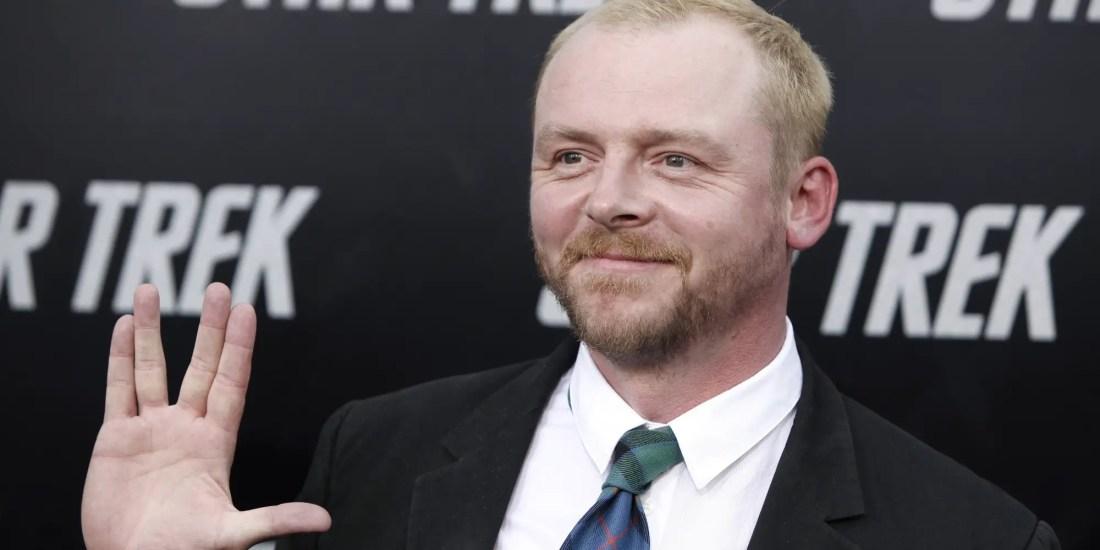 Simon Pegg to co-write Star Trek 3 with Doug Jung