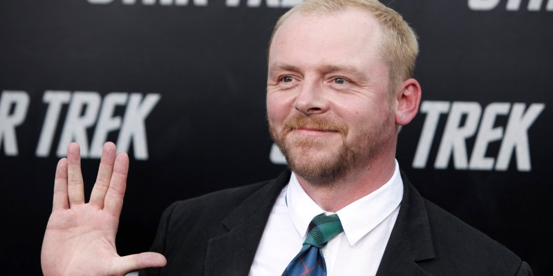 Simon Pegg to co-write Star Trek 3 with Doug Jung