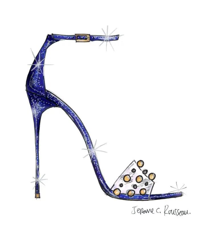 Jerome Rousseau - Cinderella Shoe