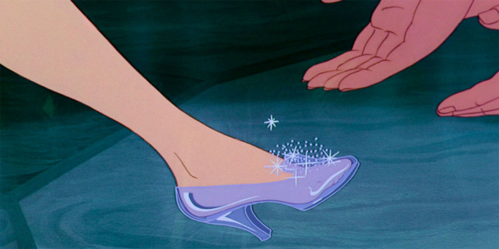 Original Cinderella's Glass Slipper