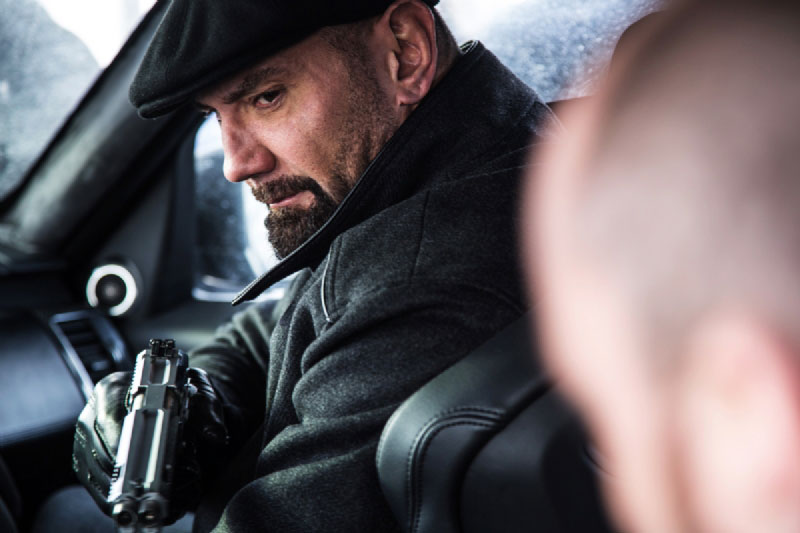 Dave Bautista as Mr. Hinx in James Bond SPECTRE