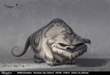 Tinker Bell and the Legend of the NeverBeast_Gruff_Concept Art_small
