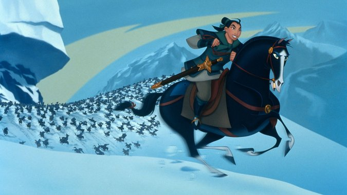 Photofest - Disney's 1998 film 'Mulan'