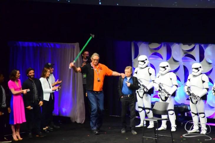 Star Wars The Force Awakens Panel Star Wars Celebration Anaheim-69
