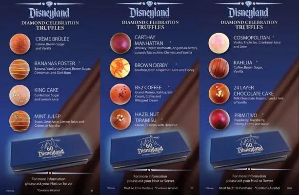 Disneyland 60 Truffles