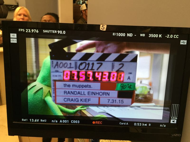 The Muppets on ABC Begin Shooting