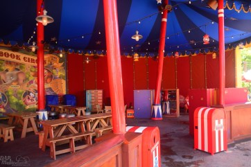 Some details of the Storybook Circus