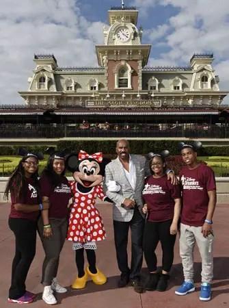 Steve Harvey Welcomes the 2015 Disney Dreamers Academy at Walt Disney World Resort